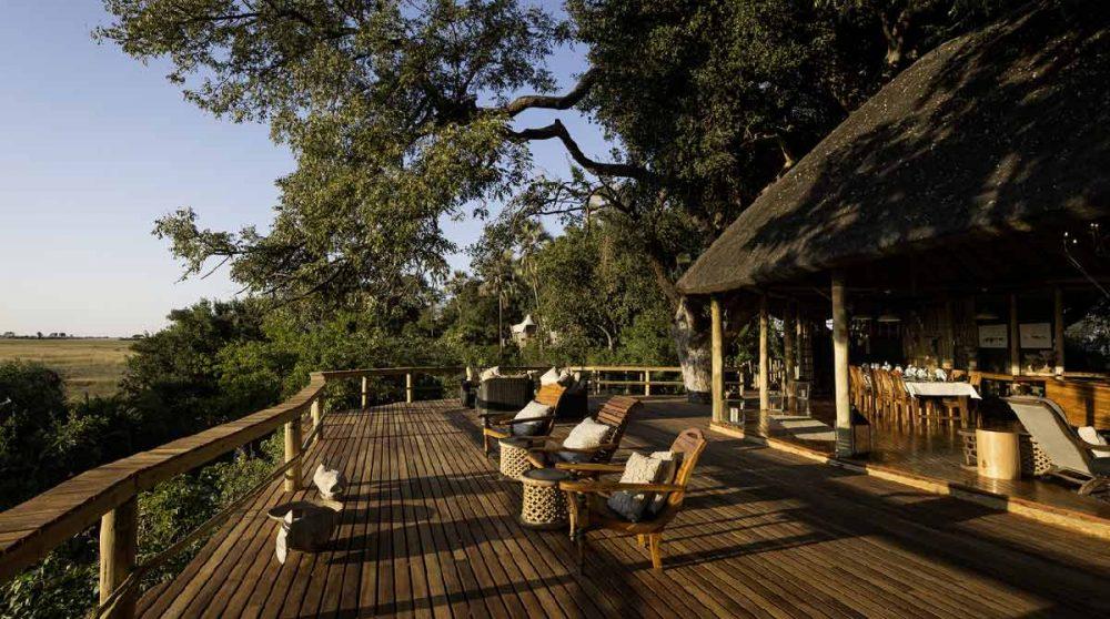 La terrasse au Botswana