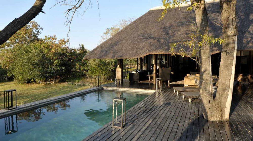 La piscine à Sabi Sand