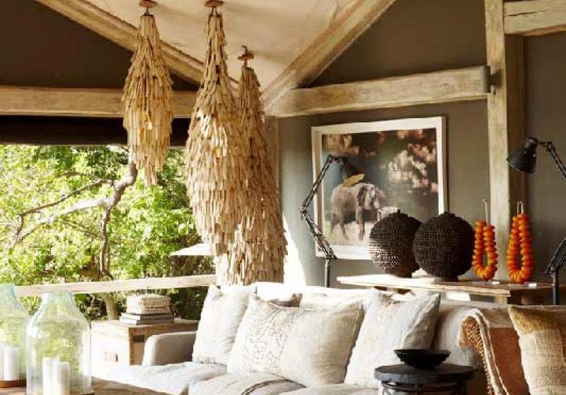 Le salon dans le Delta de l'Okavango