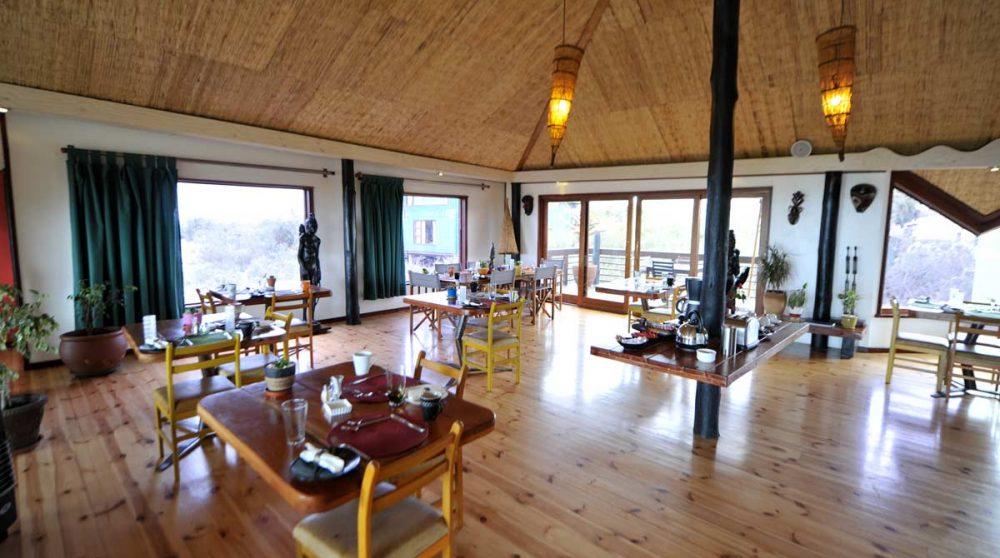 Le restaurant à Swakopmund