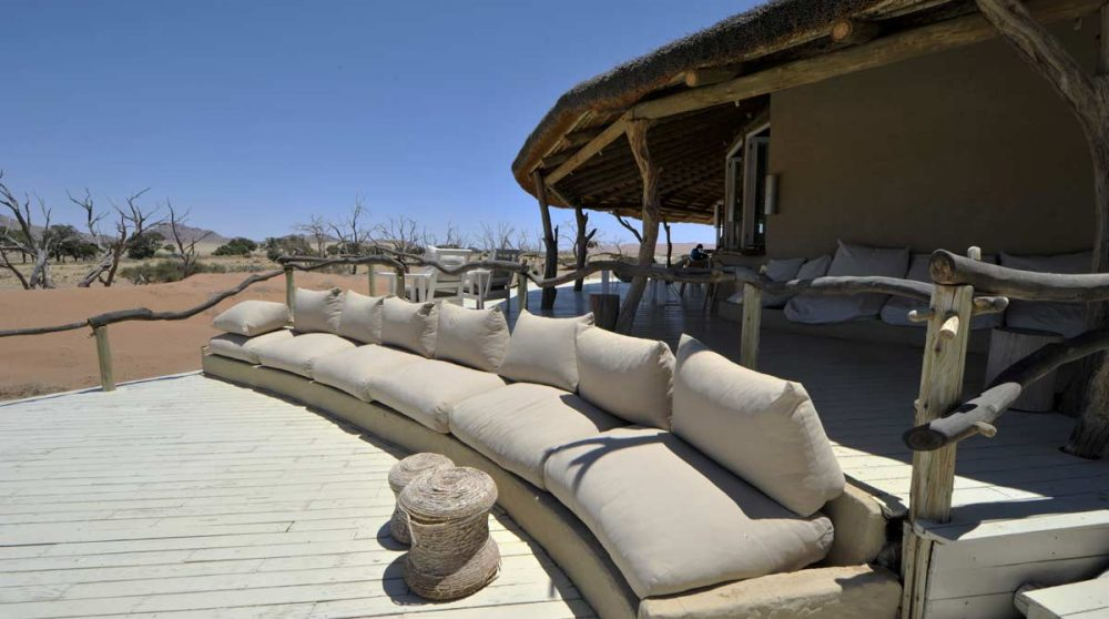 Canapé pour se reposer à Namib