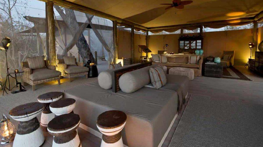 L'espace lounge de DumaTau Camp