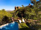 La piscine de l'Erongo Wilderness Lodge