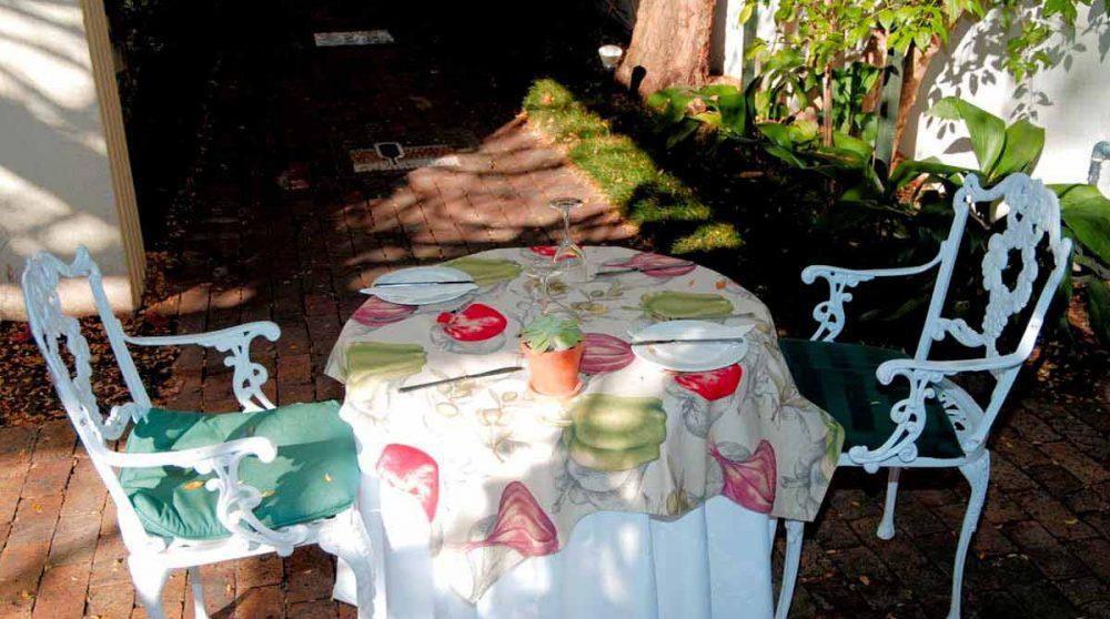 Déjeuner en Afrique du Sud