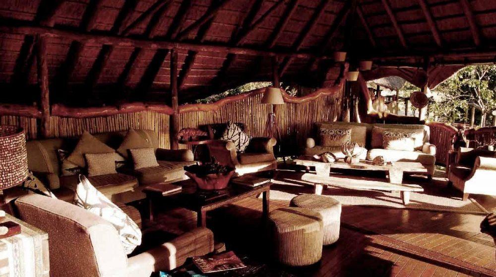 Dans le lounge au Botswana
