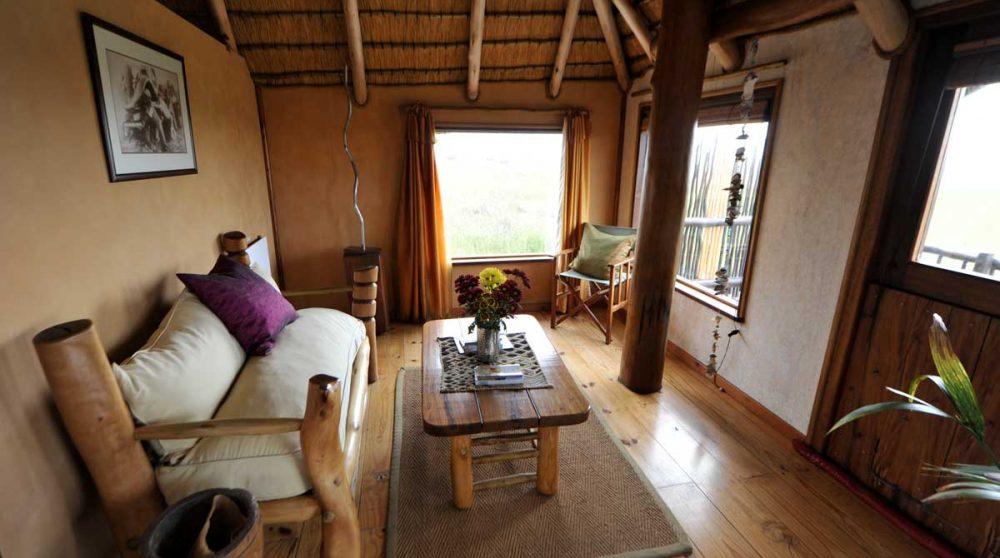 Salon dans une chambre à Swakopmund