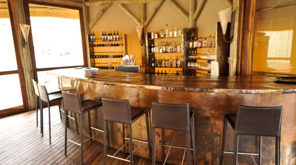 Le bar dans le désert du Namib