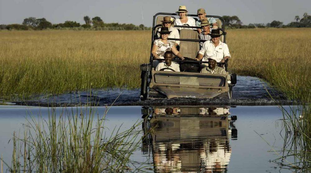 Départ en safari au Botswana