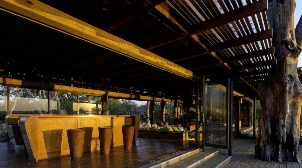 Le bar au Botswana
