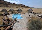 La piscine avec vue sur la savane à Namib