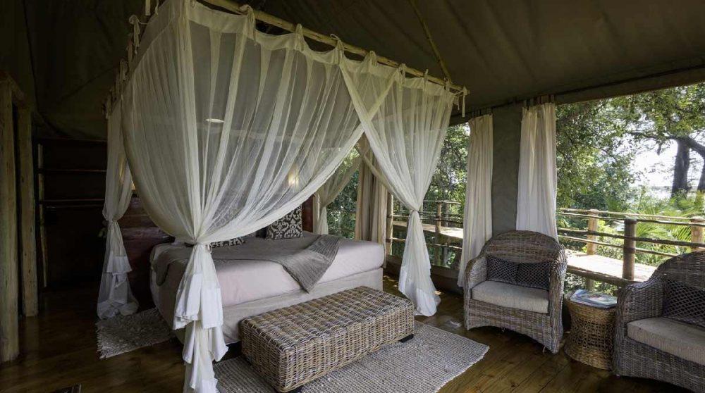 Le confort de la tente