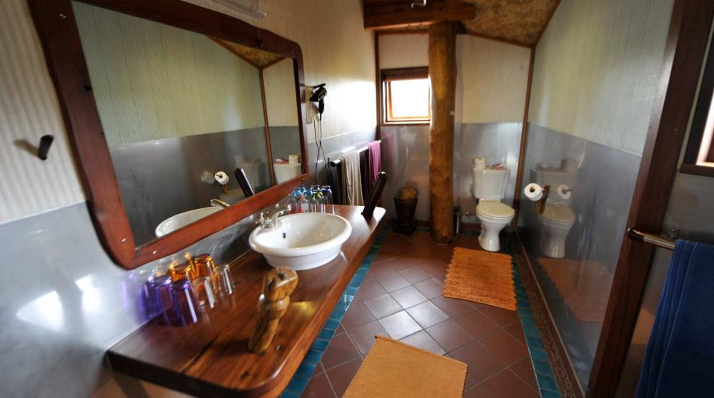 Salle de bains au Stiltz