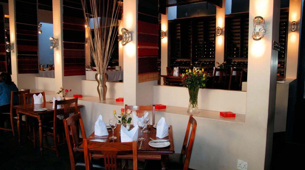 Le restaurant pour dîner