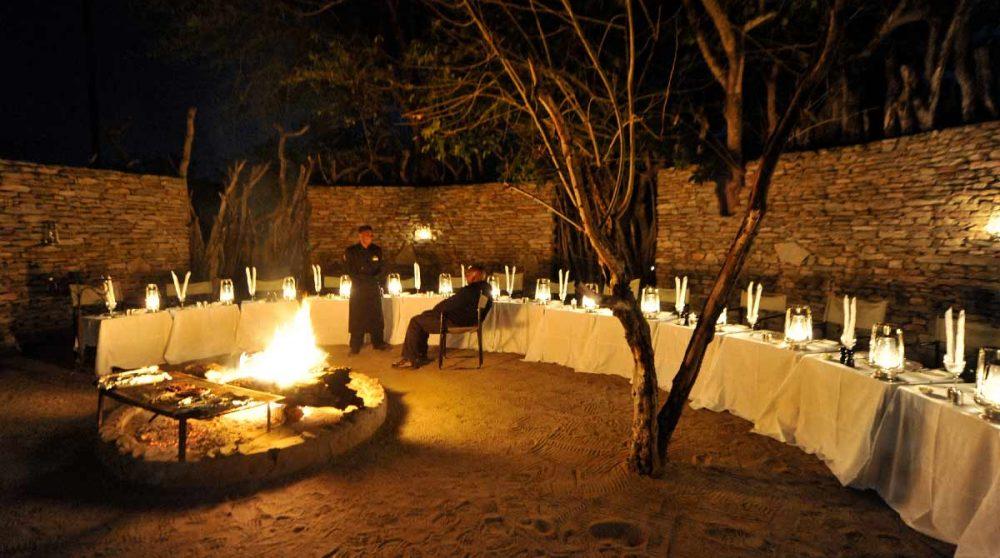 Une soirée au coin du feu à Sabi Sand