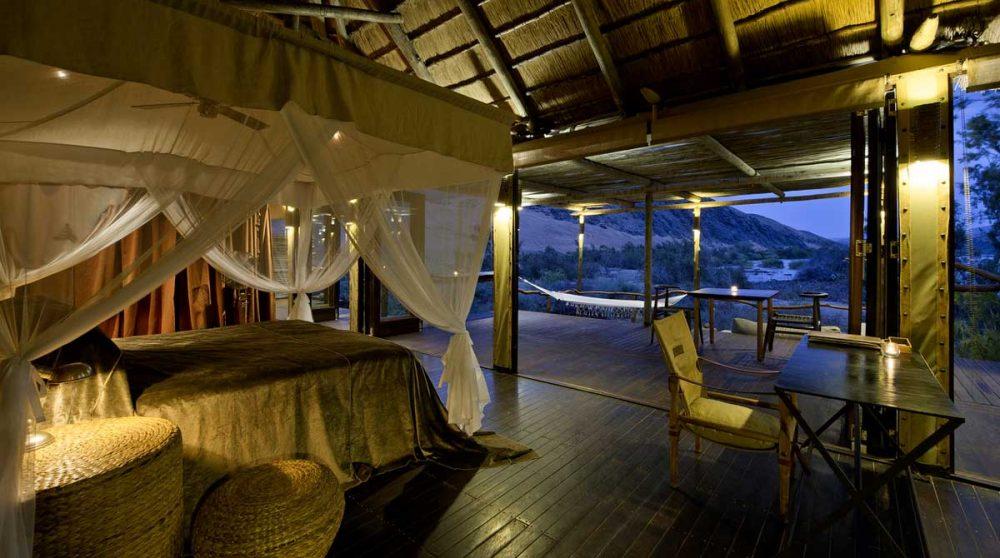 Autre vue de la chambre à Kaokoland