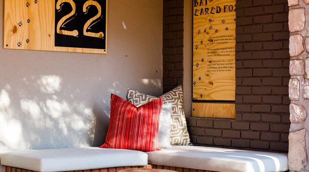 Chambre standard bungalow dans le désert du Kalahari