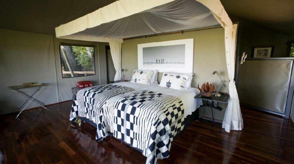 Une tente Twin au Chitabe Camp