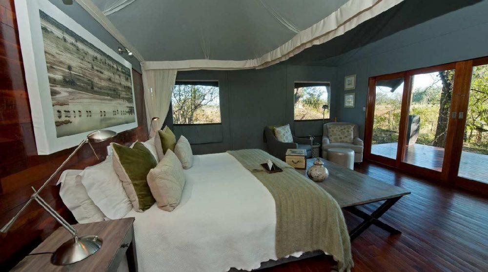 L'une des belles tentes du Chitable Lediba