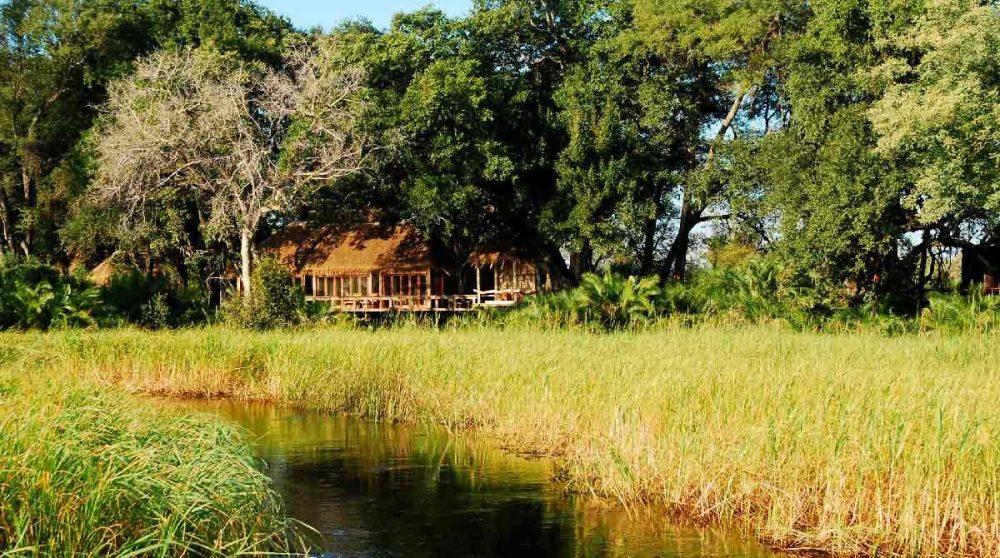 Jao Camp depuis le lagon