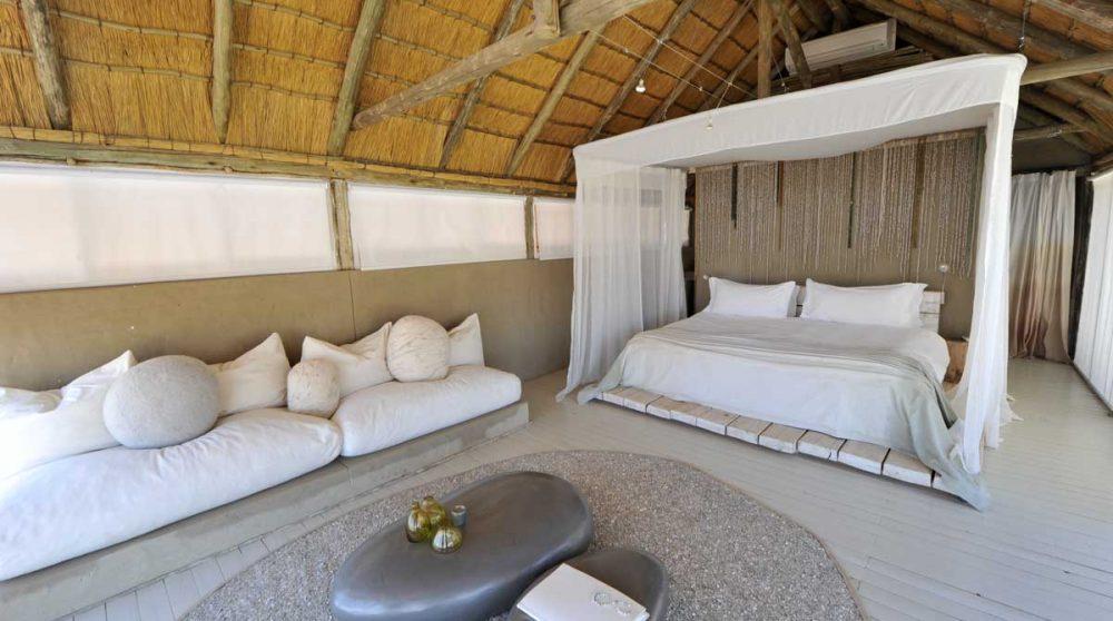 Autre vue de la chambre en Namibie