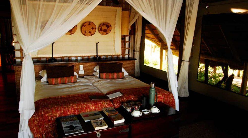 Le lit et la décoration