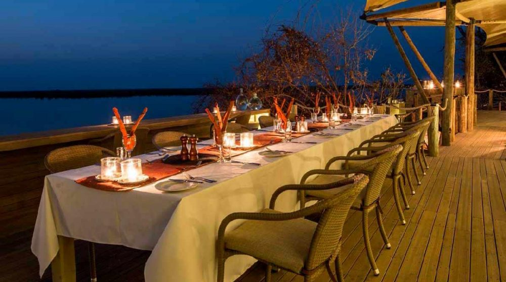 A l'heure du dîner au Botswana
