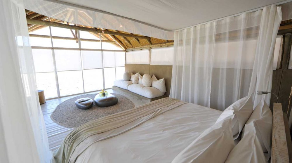 Lit dans une chambre à Namib