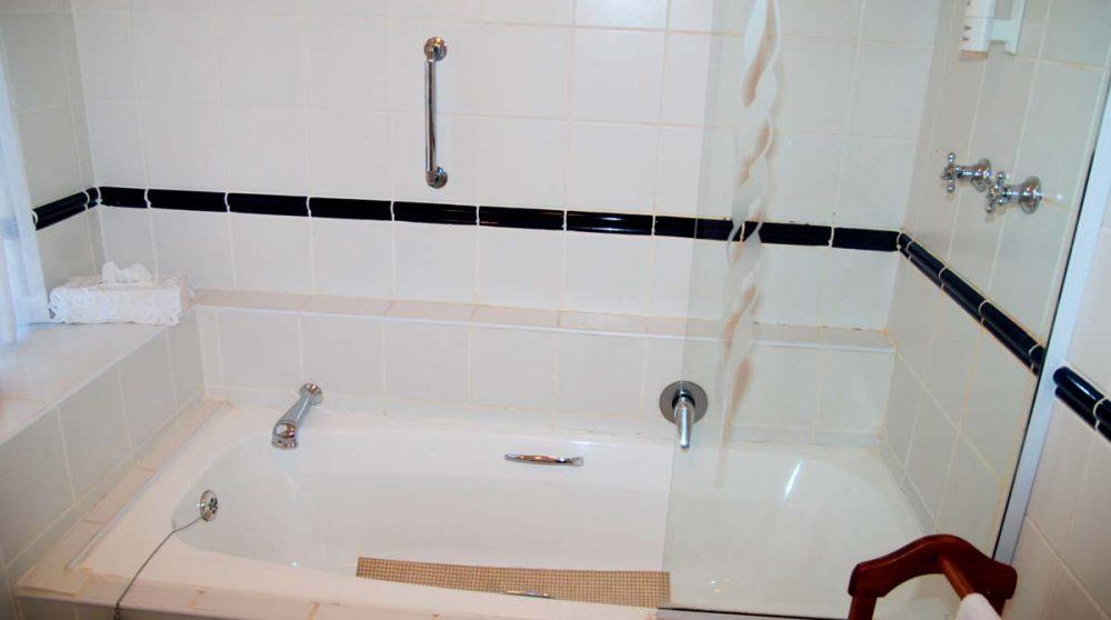 Salle de bains en Afrique du Sud