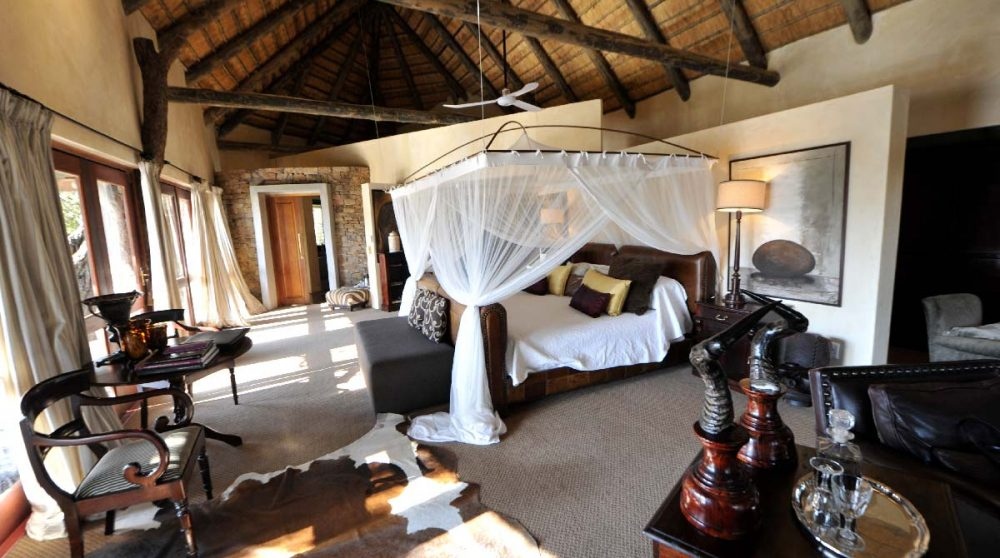 Autre vue de la chambre en Afrique du Sud