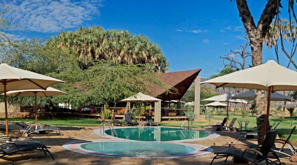 La piscine du Ashnil Samburu