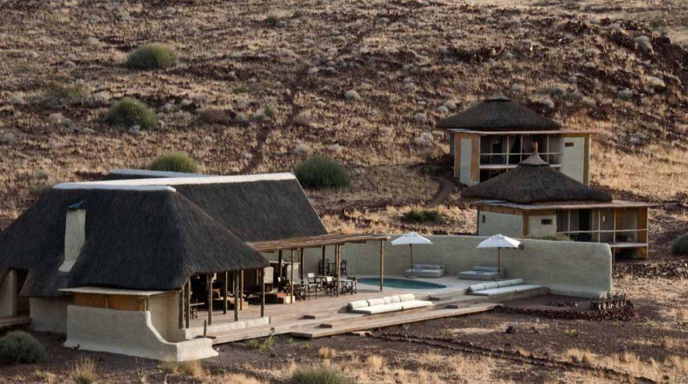 Vue sur le Damaraland Camp