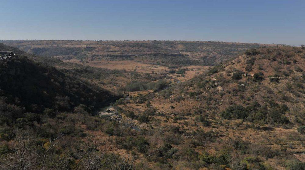 La vue depuis l'Esiweni Lodge