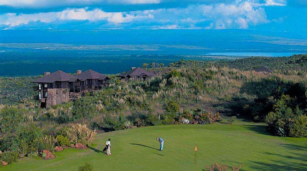 La vue depuis le Great Rift Valley Lodge