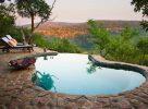 L'agréable piscine de l'Isibindi Zulu Lodge