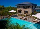 La piscine de la Kanonkop House