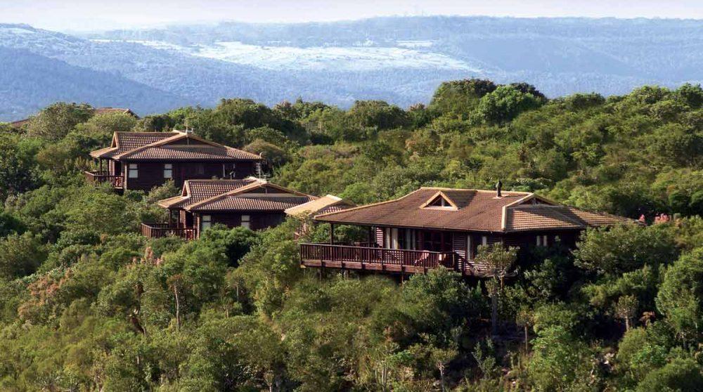 Kariega Main Lodge vu du ciel