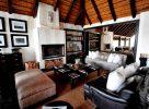 Le salon du Londolozi Varty Camp