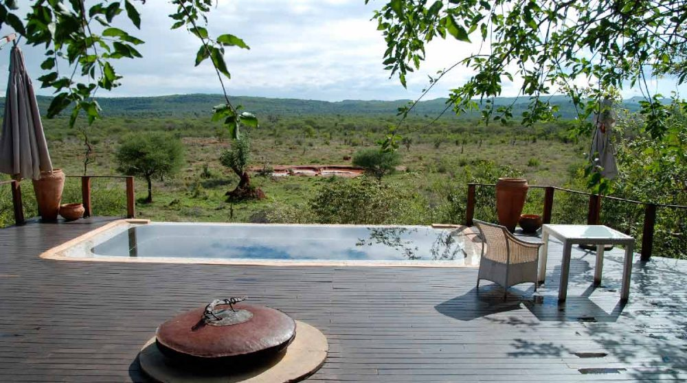 La piscine du Madikwe Hills