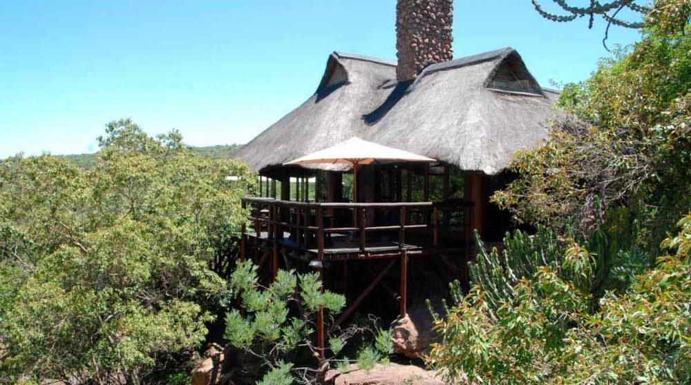 Vue sur le Makweti Safari Lodge