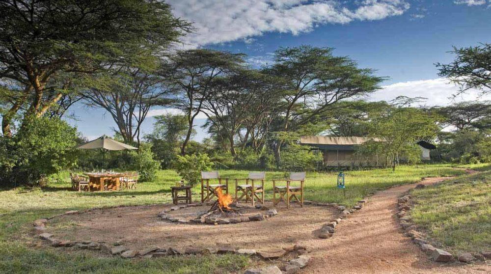 L'arrivée au Mara Porini Camp au Kenya dans le Masaï Mara