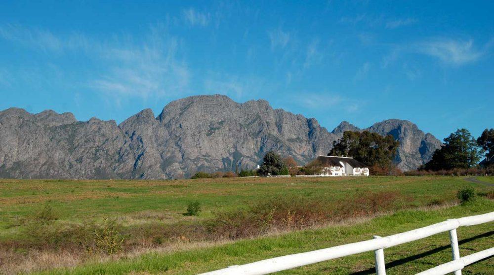 Les Mont Rochelle et les montagnes