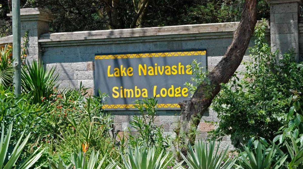 Bienvenue au Naivasha Simba Lodge