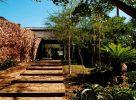 Entrée du Phinda Mountain Lodge en Afrique du Sud dans le Kwazulu Natal