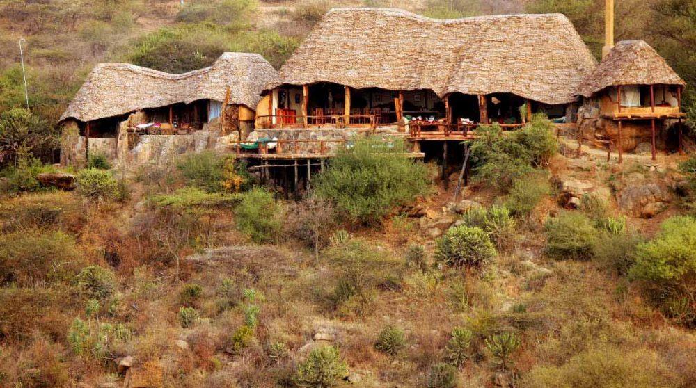 L'hôtel Sabuk à Laikipia