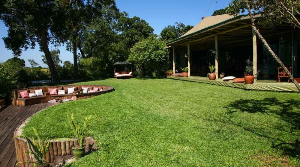 Le jardin du camp Salas