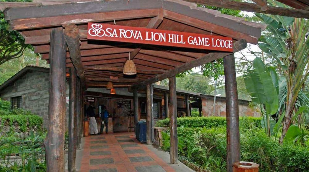 Bienvenue au Sarova Lion Hill Lodge
