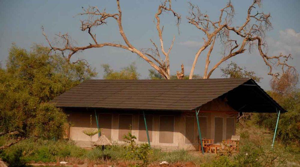 Une tente au Sentrim Amboseli