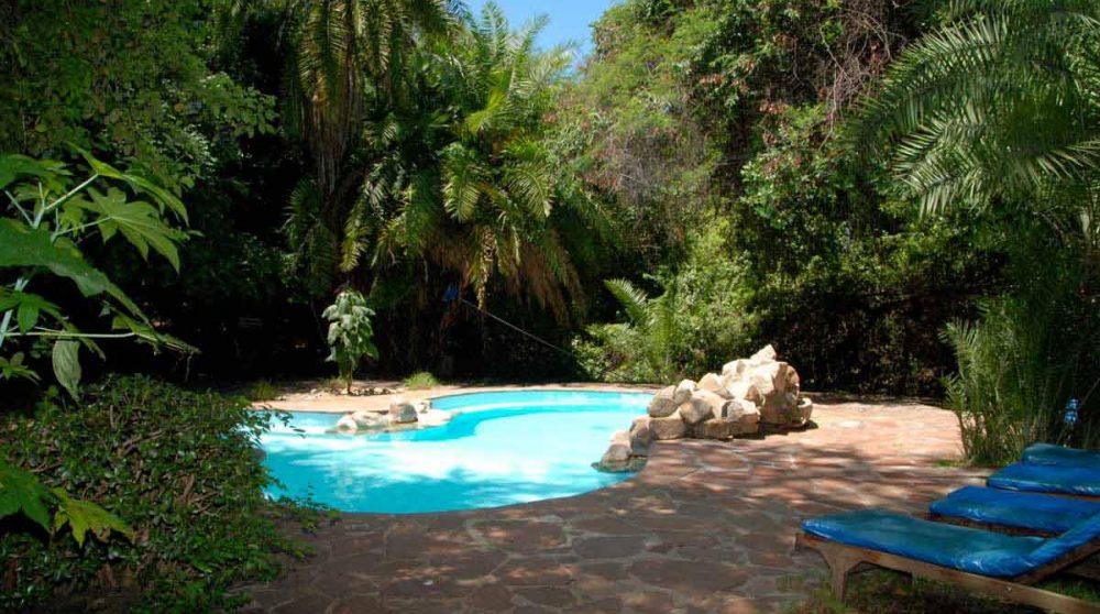 La piscine du Siana Springs