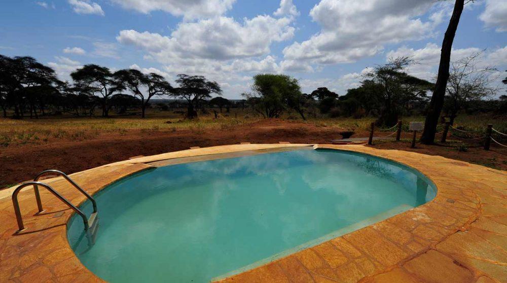 La piscine du Swala Camp