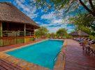 La piscine du Tarangire River Camp